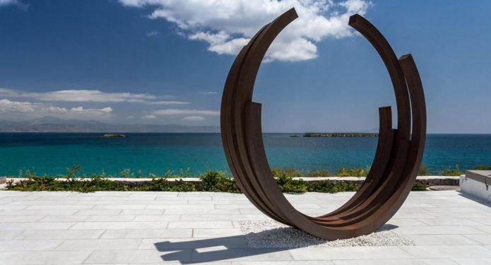 "a ""shelter"" for modern art \ Paros"