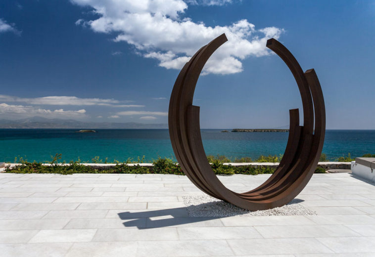 "a ""shelter"" for modern art \ Paros"